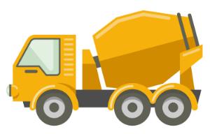 Josies concreting cement truck