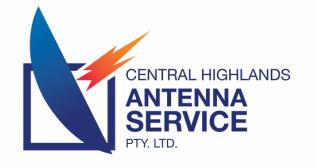 Central highlands antenna service logo